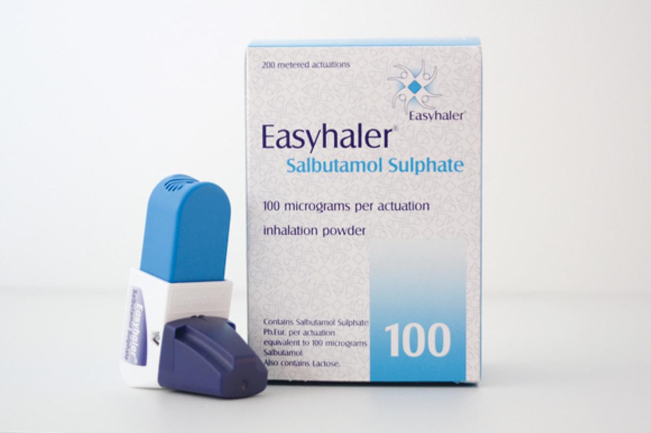 Easyhaler Salbutamol sulfate 100micrograms/dose dry powder